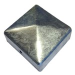 NSH STOLPEHAT M/FASTG. HULLER - GALVANISERET 75 MM 2 MM (VT)