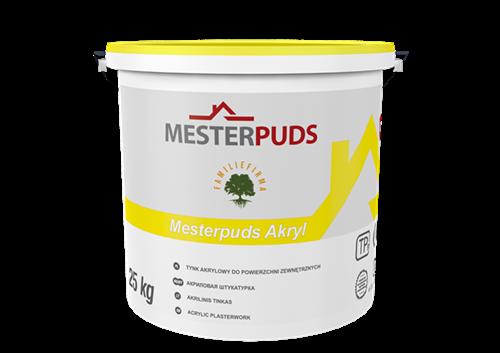 MESTERPUDS HVID AKRYL PUDS - SP/25 KG 1,0 MM (CV)