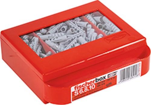 FISCHERBOX TIL S 6-8-10 DÜBLER - MED 100 S 6.100 S 8. 25 S 10.