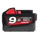 MILWAUKEE LION BATTERI - M 18V 9,0AH *NT-PRIS*