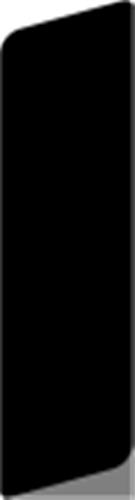 14 x 55 Hvidmalet Fyr  (KL) - Alm. glat fodpanel