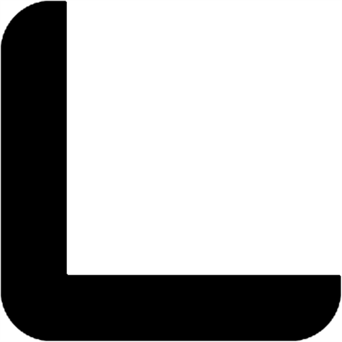 35 x 35 mm Teak  (KL) - Hjørneliste m/ 30 x 30 mm fals