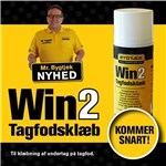 BYGTJEK TAGFODS KLÆBEMASSE - BUTYL DS/400 ML.WIN2 *NT-PRIS*