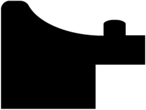 15 x 20 mm Fyr  (KL) - Rammeliste m/ 7 x 7 mm fals