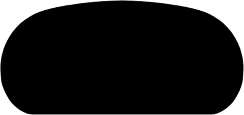33 x 68 mm Mahogni - Håndløber