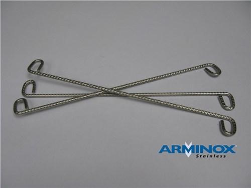 ARMINOX S-MURBINDERE (ST) - 250X4 MM RUSTFRIT STÅL PK/100S