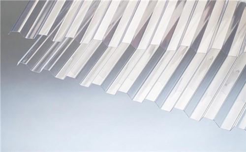 RODENA PVC TRAPEZ TAGPLADE - 1115X3640 MM GLASKLAR (HVT)