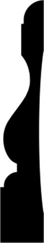 21 x 115 mm Fyr U/S 1-2 List. - Indfatning Charlottenlund