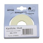 DECOPA KANTFOLIE HVID - 33 MM X 3 METER